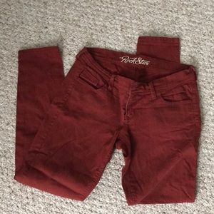 Old Navy Red Cropped Ankle Pants! ❤️